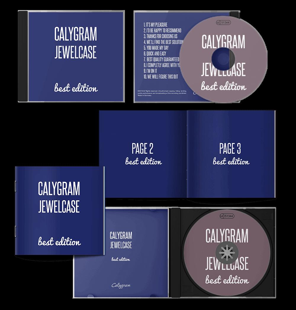 CD - Pressen - Jewelcase