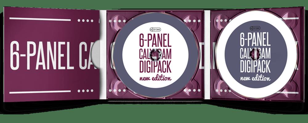 Digipack - Herstellung - CD - Pressen