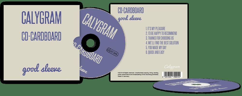 Kartonstecktasche  - Angebot - CD-Pressen