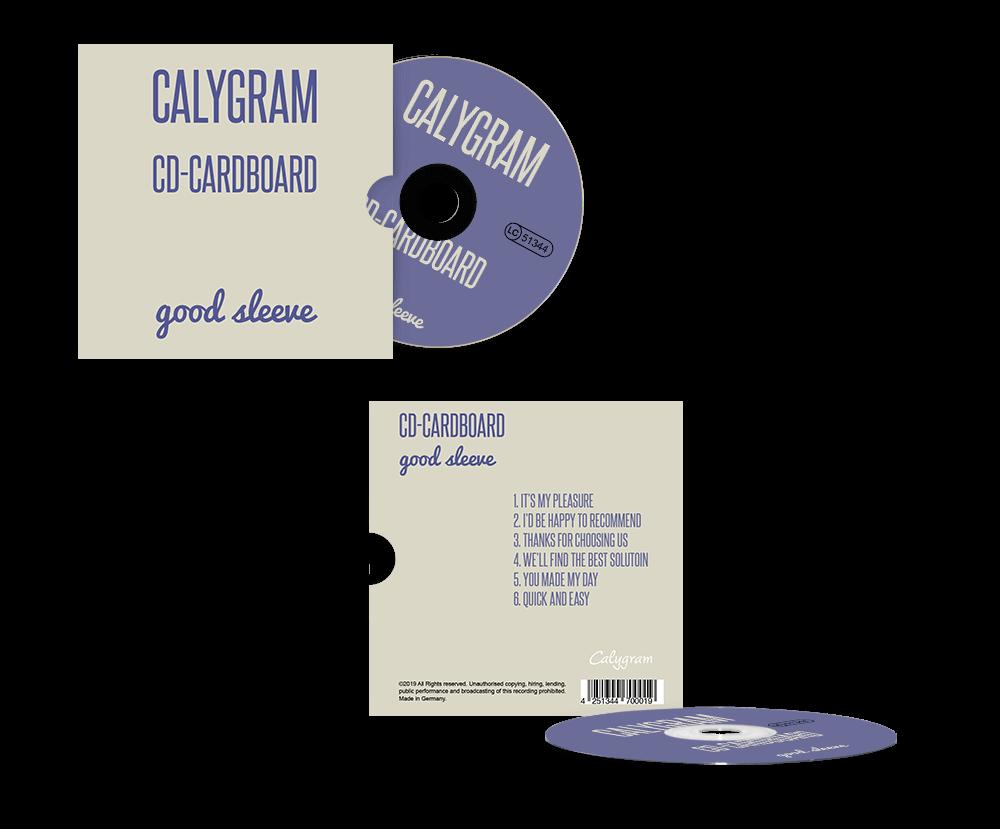 Kartonstecktasche - Herstellung - CD - Pressen