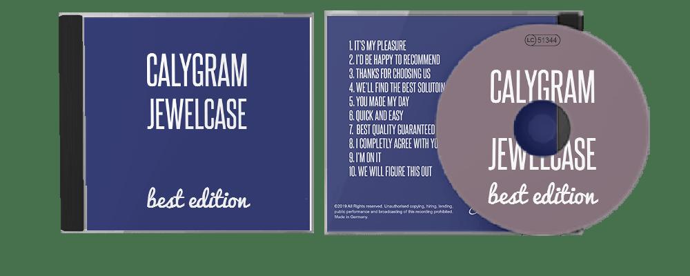 Jewelcase  - Angebot - CD-Pressen